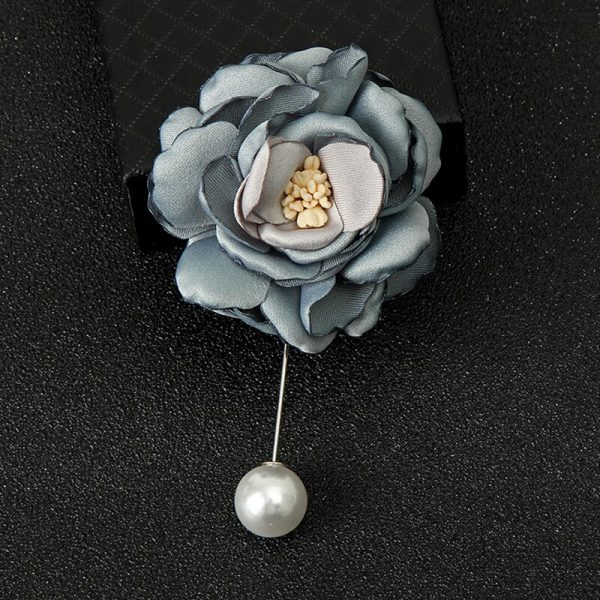 Buy Grey single flower broach For Women - Office & You